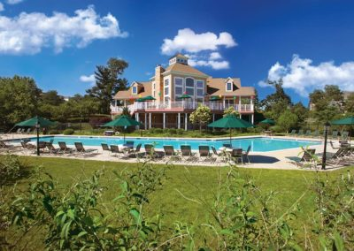 Heritage Orchard Hill Community Swimming Pool and Clubhouse in Perkasie, PA