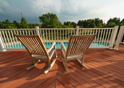 Heritage Orchard Hill Clubhouse Sun Deck in Perkasie, PA