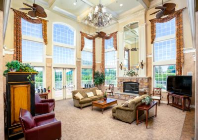 Heritage Orchard Hill Clubhouse Community Room in Perkasie, PA