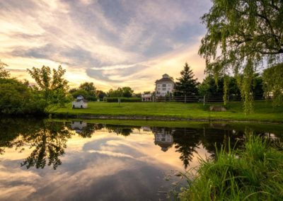 Heritage Orchard Hill Pond and Pet Park in Perkasie, PA