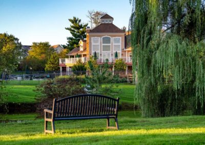 Heritage Orchard Hill Pet Park View of Clubhouse in Perkasie, PA