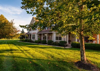 Heritage Orchard Hill Maplewood and Oakwood Townhomes Surrounded by Open Space in Perkasie, PA