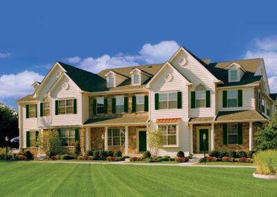Heritage Orchard Hill Maplewood and Oakwood Townhome Exterior in Perkasie, PA