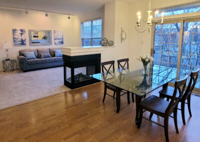 Heritage Orchard Hill 3 Bedroom Oakwood Dining and Living Rooms in Perkasie, PA